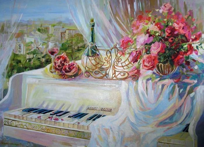 Открытка пианисту с днем рождения, днем рождения